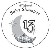 Baby Shampoo label